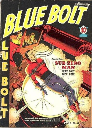 Blue Bolt (1940) 8-A by Novelty Press