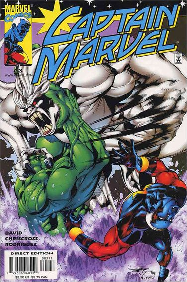 Captain Marvel (1999) 3-A by Marvel