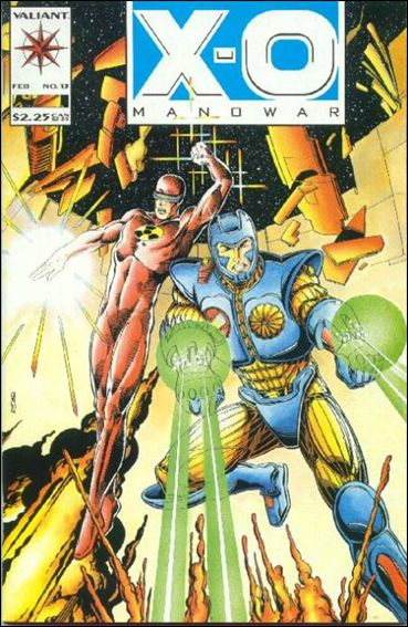 X-O Manowar (1992) 13-A by Valiant