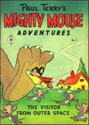 Mighty Mouse Adventures 1-A