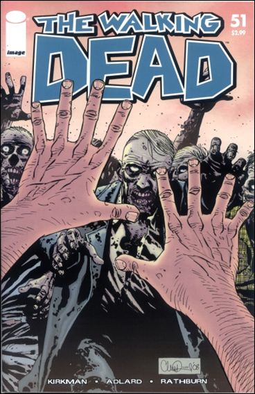 Walking Dead (2003) 51-A by Image