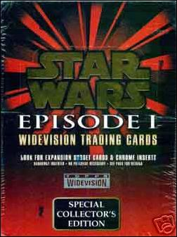 Star Wars: Episode I Widevision: Series 1 1-A by Topps