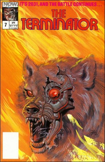 Terminator (1988) 7-A by Now Comics