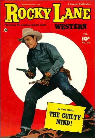Rocky Lane Western (1949) 34-A by Fawcett