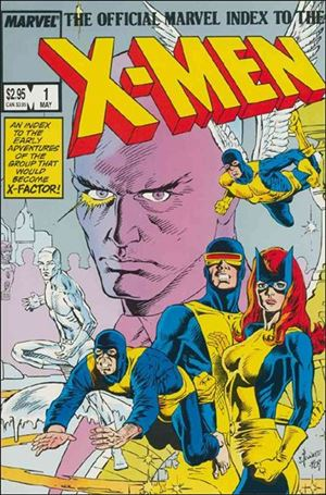 Official Marvel Index to the X-Men (1987) 1-A