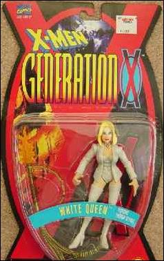 X-Men (Generation X) White Queen (Thigh-High Boots) by Toy Biz