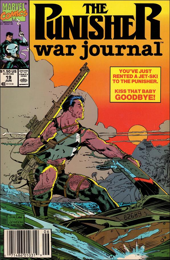 Punisher War Journal (1988) 19-A by Marvel