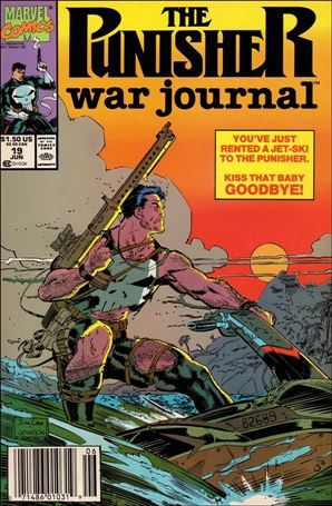 Punisher War Journal (1988) 19-A