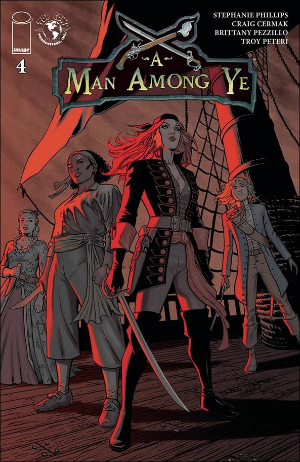 Man Among Ye 4-A by Top Cow