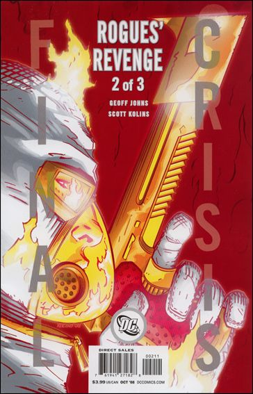 Final Crisis: Rogues' Revenge 2-B by DC