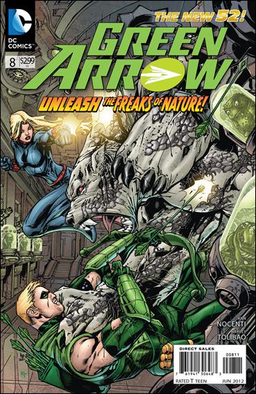 Green Arrow (2011) 8-A by DC
