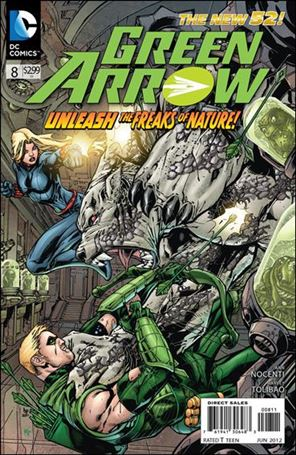 Green Arrow (2011) 8-A