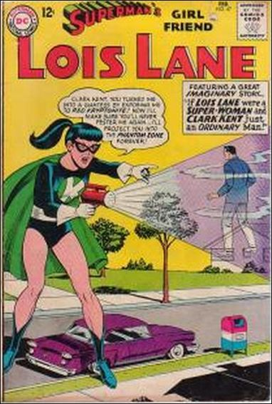 Superman's Girl Friend Lois Lane 47-A by DC