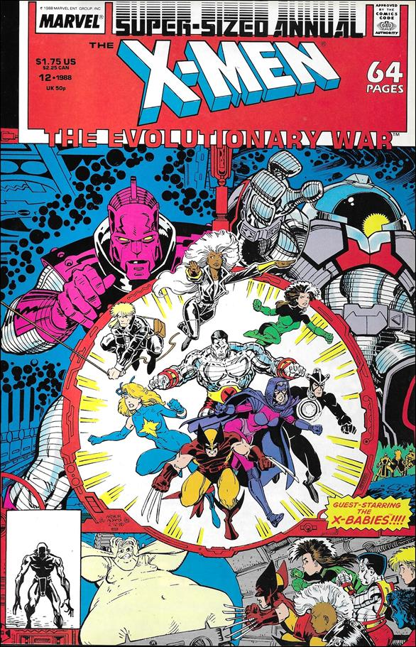 Uncanny X-Men Annual (1970) 12-A by Marvel