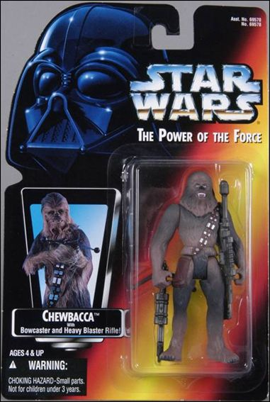 "Star Wars: The Power of the Force 2 3 3/4"" Basic Action Figures Chewbacca by Kenner"