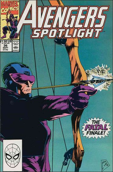 Avengers Spotlight 36-A by Marvel