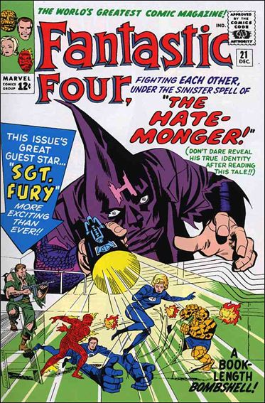 Fantastic Four (1961) 21-A by Marvel