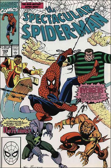 Spectacular Spider-Man (1976) 169-A by Marvel