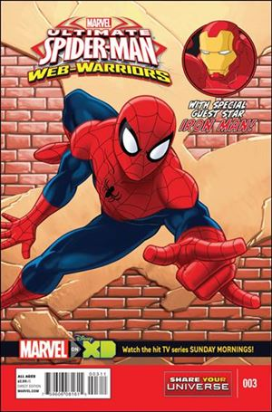 Marvel Universe Ultimate Spider-Man: Web Warriors 3-A