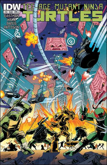 Teenage Mutant Ninja Turtles (2011) 18-A by IDW