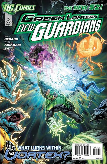 Green Lantern: New Guardians  5-A by DC