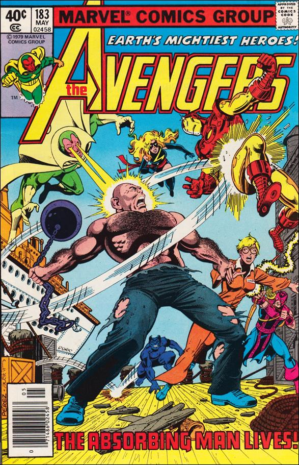 Avengers (1963) 183-A by Marvel