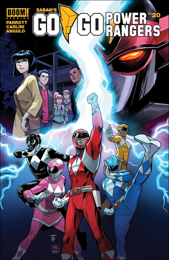Saban's Go Go Power Rangers 20-A by Boom! Studios