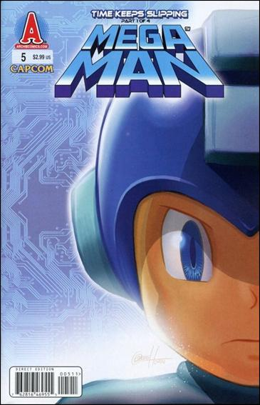 Mega Man 5-A by Archie