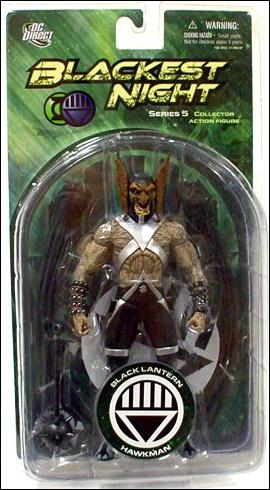 Blackest Night (Series 5) Black Lantern Hawkman by DC Direct