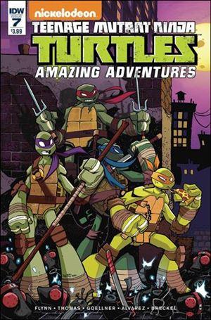 Teenage Mutant Ninja Turtles Amazing Adventures 7-A