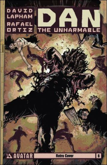 Dan the Unharmable 6-C by Avatar Press