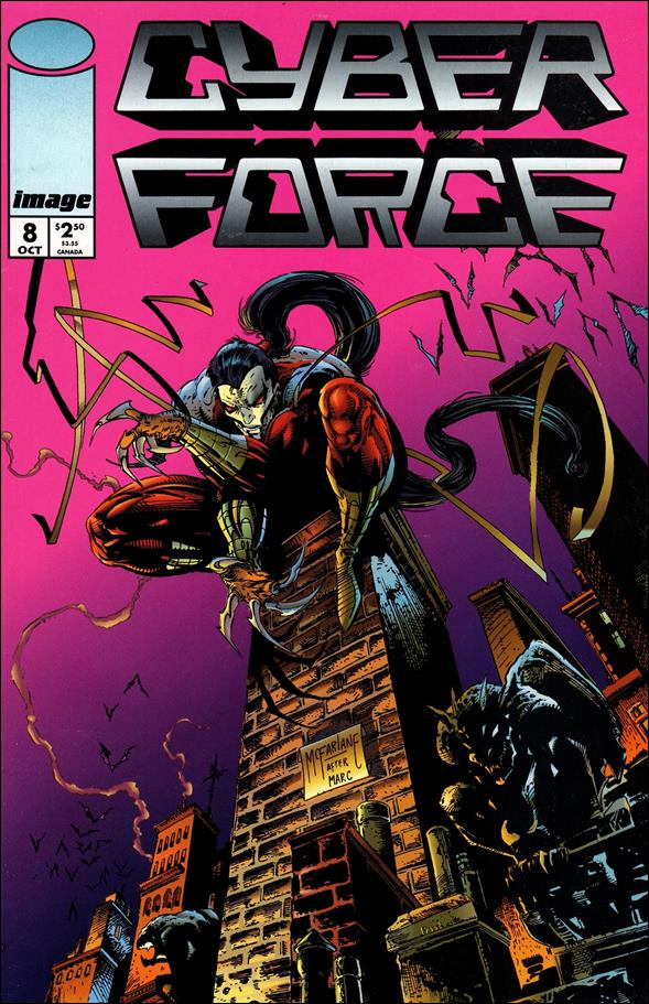 Cyberforce (1993) 8-A by Image