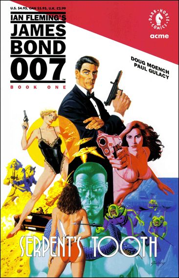 James Bond 007: Serpent's Tooth 1-A by Dark Horse