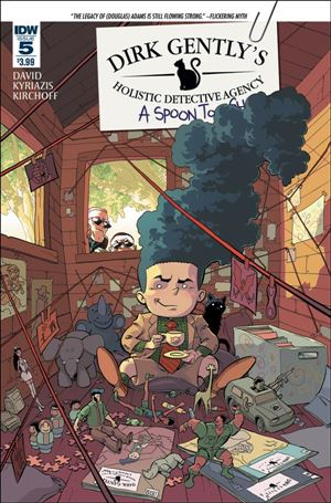 Dirk Gently's Holistic Detective Agency: A Spoon Too Short 5-A