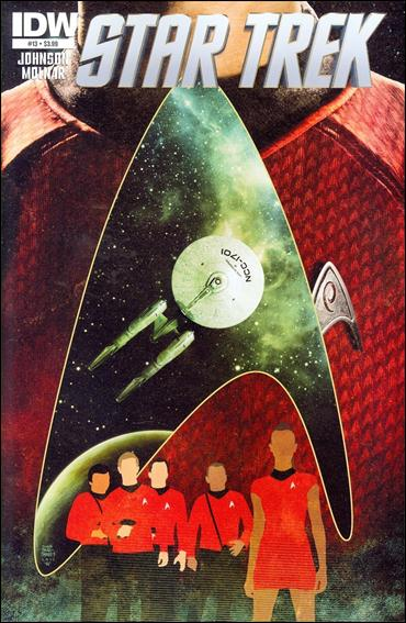 Star Trek (2011) 13-A by IDW