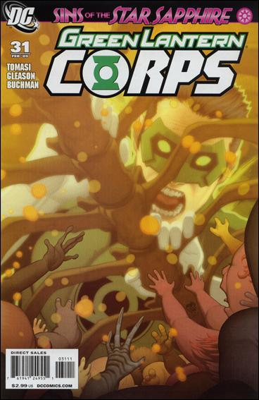 Green Lantern Corps (2006) 31-A by DC