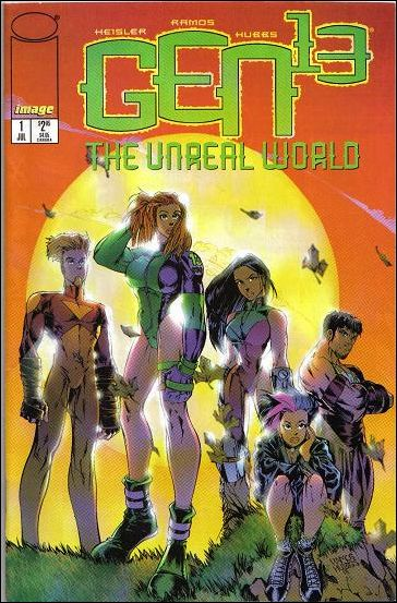 Gen13: The Unreal World 1-A by Image