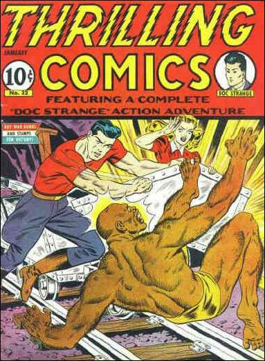 Thrilling Comics (1940) 32-A by Standard