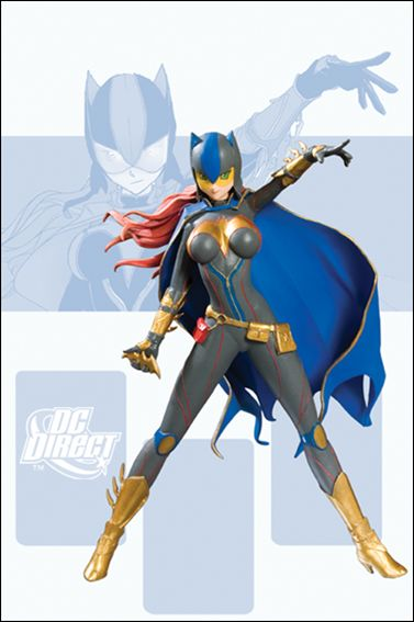 Ame-Comi (Heroine Series) Batgirl (Gray Suit) by DC Collectibles