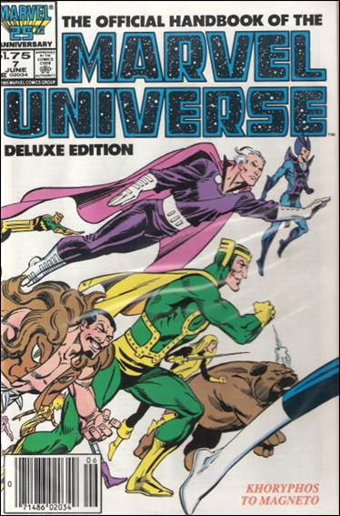 Official Handbook of the Marvel Universe (1985) 7-B by Marvel