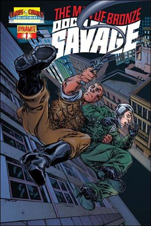Doc Savage (2013) 1-D