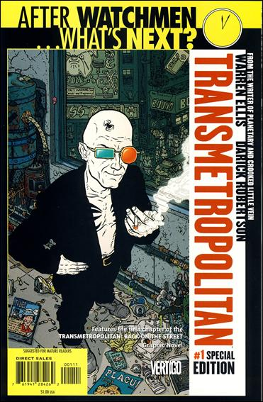 Transmetropolitan 1-B by Vertigo