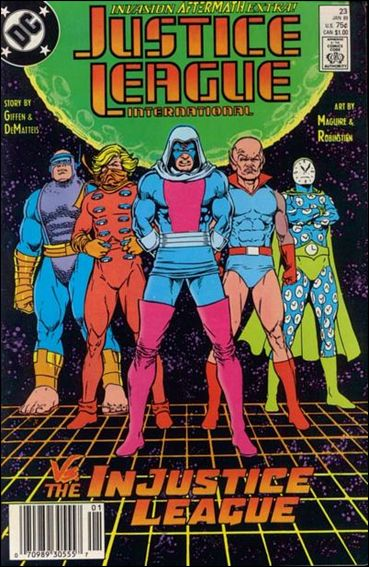 Justice League International (1987) 23-A by DC