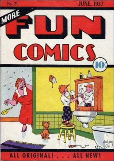More Fun Comics 21-A by DC