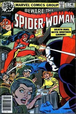 Spider-Woman (1978) 11-A