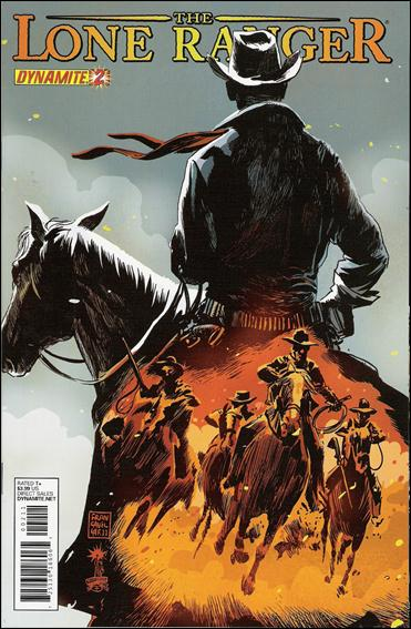 Lone Ranger (2012) 2-A by Dynamite Entertainment