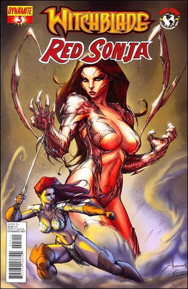 Witchblade/Red Sonja 3-A by Dynamite Entertainment