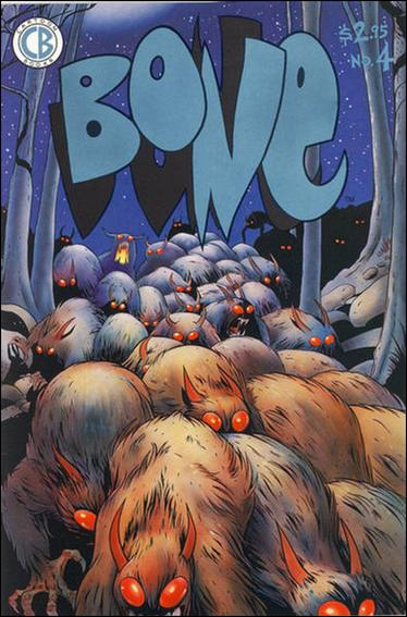 Bone (1991) 4-A by Cartoon Books