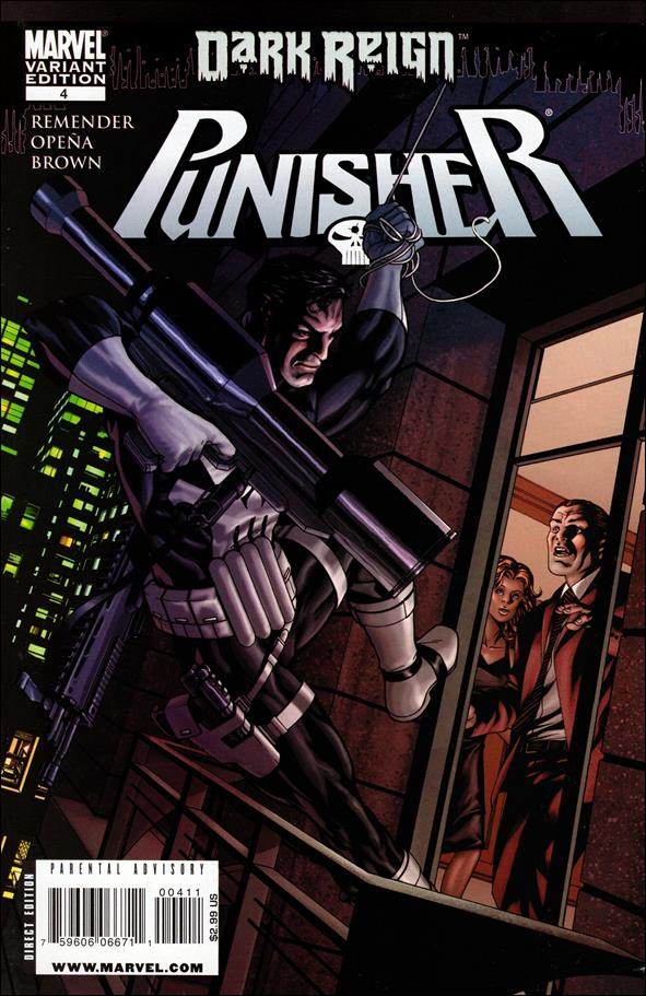 Punisher (2009) 4-B by Marvel