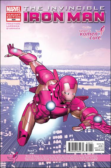 Invincible Iron Man (2008) 526-B by Marvel